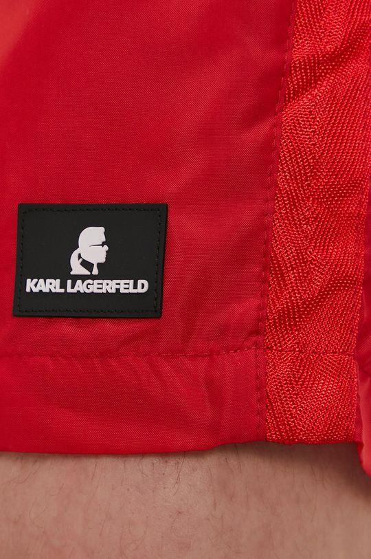 Karl Lagerfeld - Szorty kąpielowe czerwony