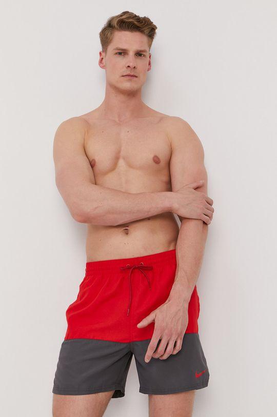 czerwony Nike - Szorty kąpielowe Męski