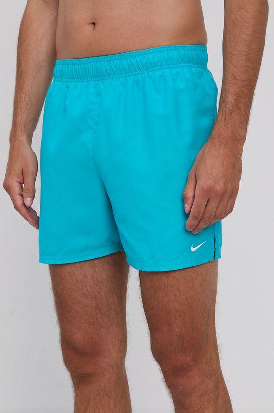 tyrkysová Nike - Plavkové šortky Pánský