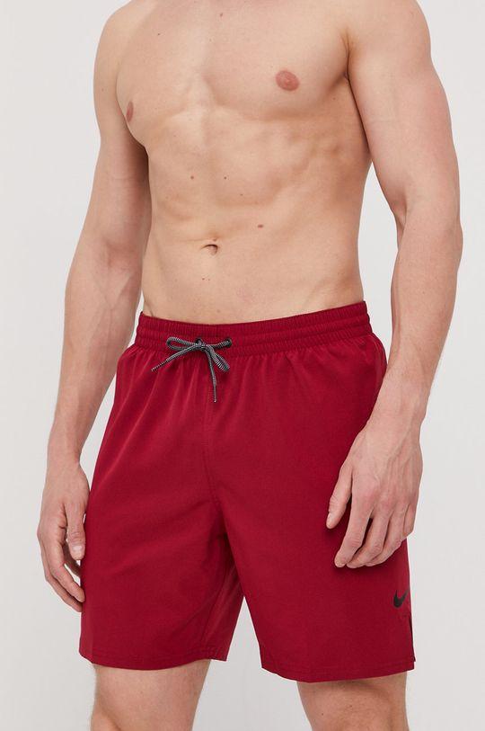 Nike - Szorty kąpielowe ostry czerwony