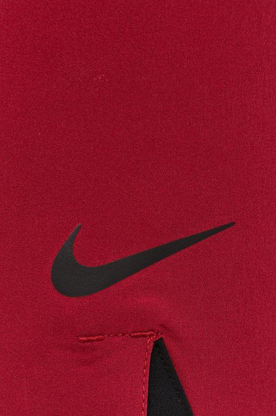 ostry czerwony Nike - Szorty kąpielowe