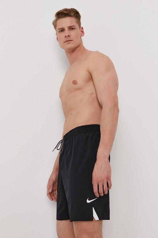 čierna Nike - Plavkové šortky Pánsky