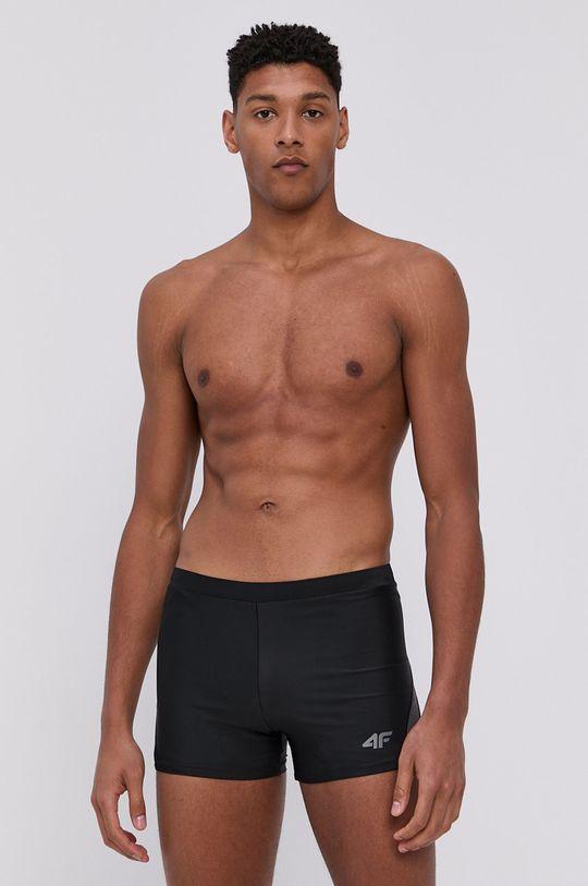černá 4F - Plavky Pánský