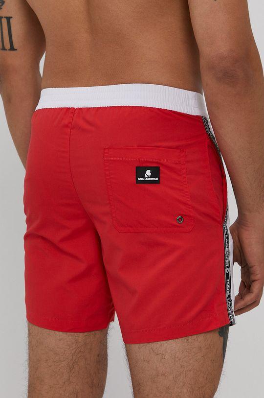 Karl Lagerfeld - Plavkové šortky červená