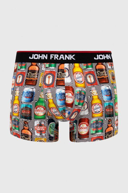 multicolor John Frank - Bokserki Męski