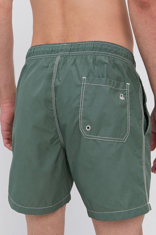 United Colors of Benetton - Plavkové šortky zelená
