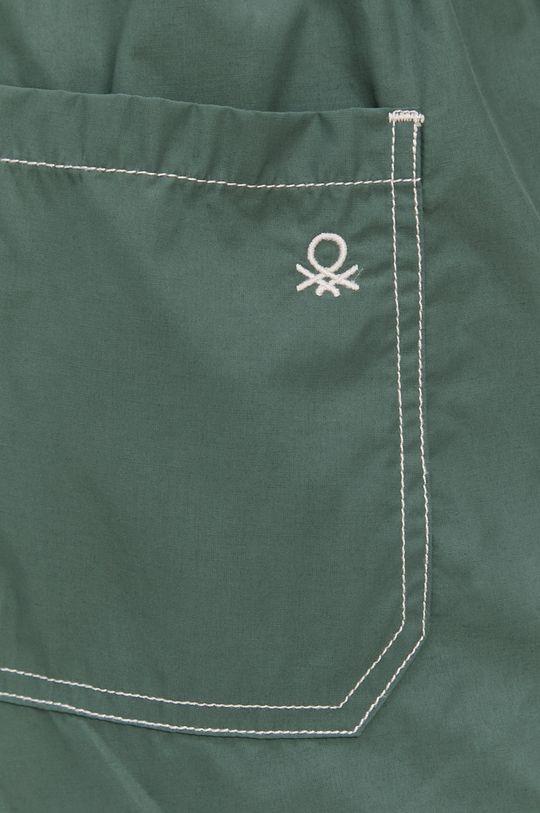 United Colors of Benetton - Plavkové šortky  Podšívka: 100% Polyester Hlavní materiál: 55% Bavlna, 45% Polyamid