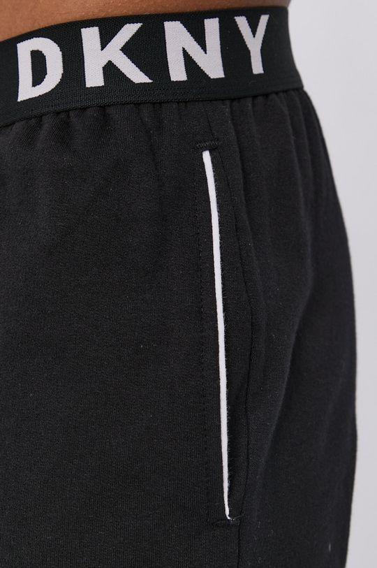 czarny Dkny - Szorty piżamowe