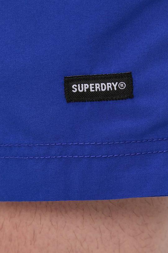 modrá Superdry - Plavkové šortky
