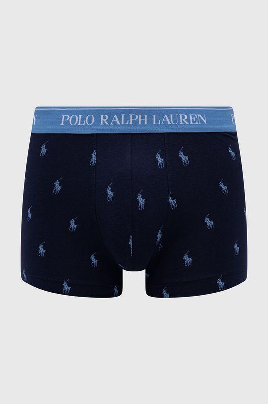 modrá Polo Ralph Lauren - Boxerky (3-pack)