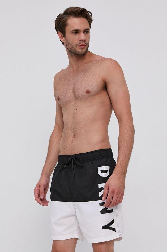čierna Dkny - Plavkové šortky Pánsky