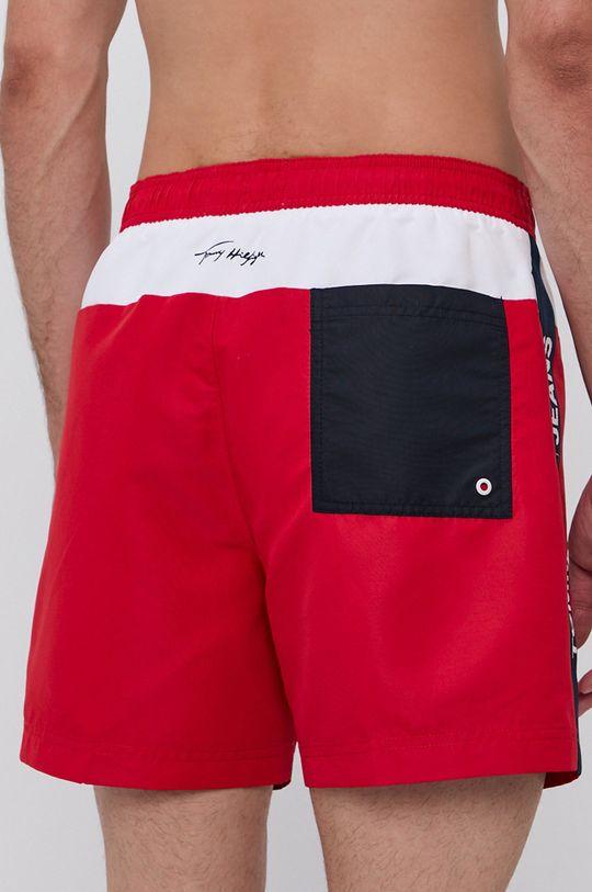 Tommy Jeans - Plavkové šortky červená