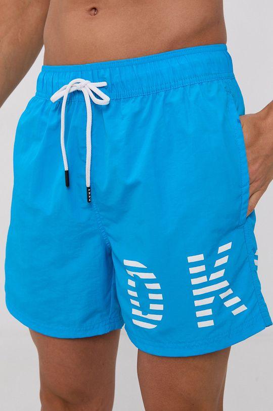 Dkny - Plavkové šortky modrá