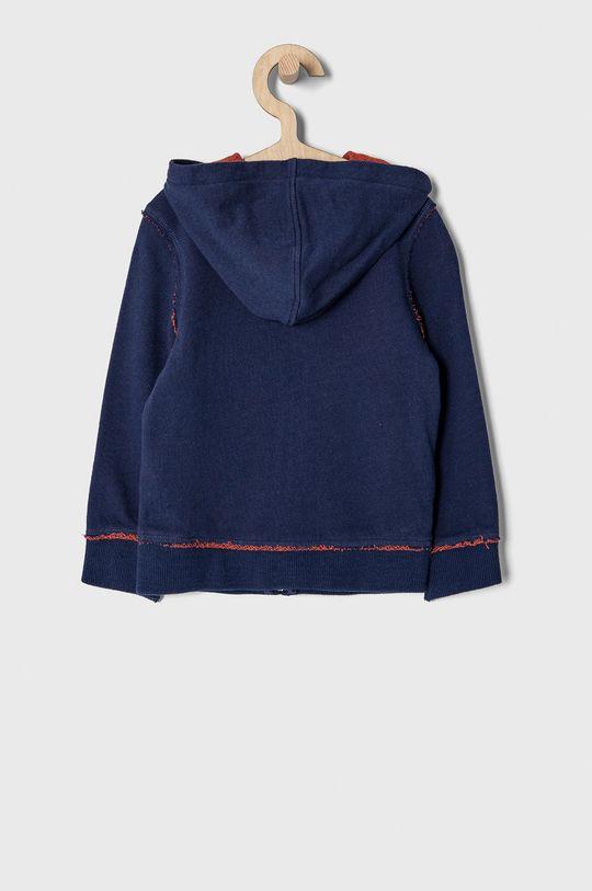 Guess - Bluza bawełniana dziecięca 92-122 cm granatowy