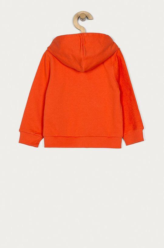 Guess - Bluza bawełniana dziecięca 92-122 cm pomarańczowy