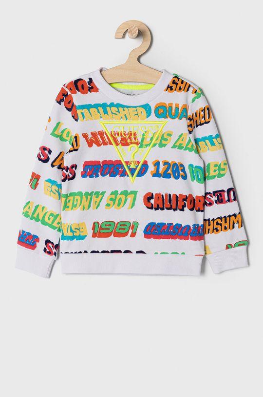 multicolor Guess - Bluza bawełniana dziecięca 92-122 cm Chłopięcy