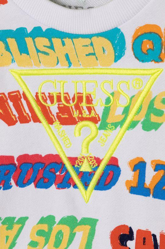 Guess - Bluza bawełniana dziecięca 92-122 cm multicolor