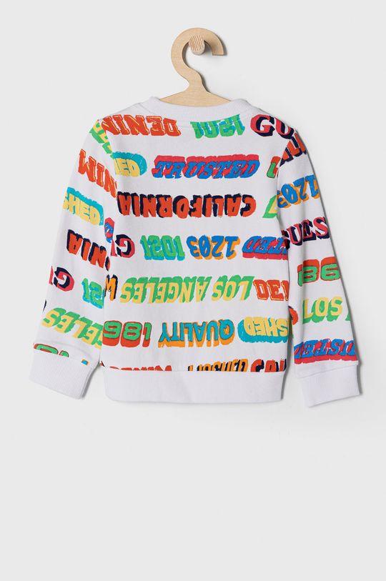 Guess - Bluza bawełniana dziecięca 92-122 cm 100 % Bawełna