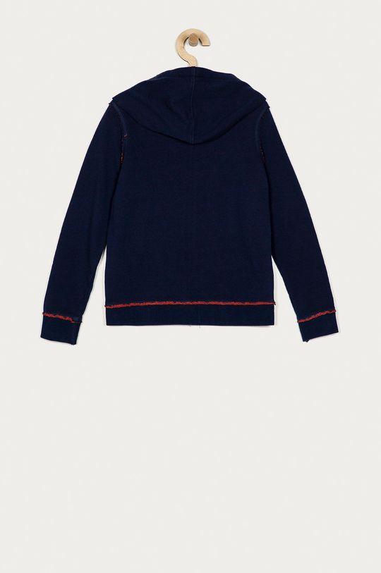 Guess - Bluza bawełniana dziecięca 128-175 cm granatowy