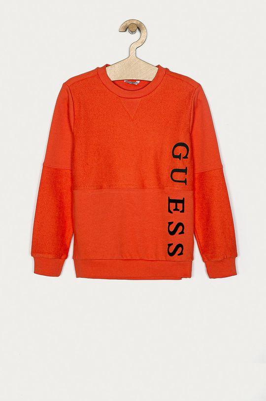 pomarańczowy Guess - Bluza dziecięca 128-175 cm Chłopięcy