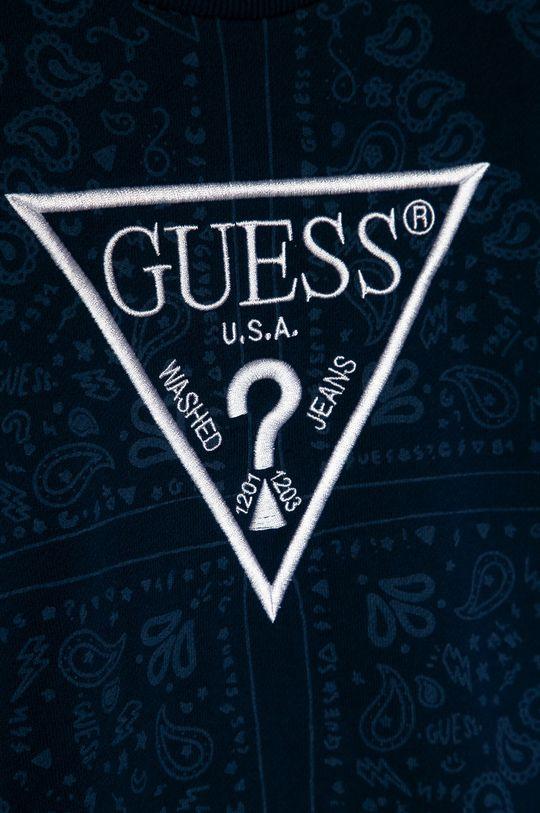 Guess - Bluza bawełniana dziecięca 116-175 cm 100 % Bawełna
