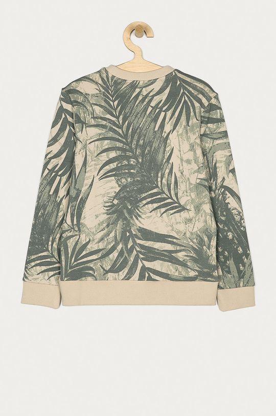 Guess - Bluza bawełniana dziecięca 116-175 cm zielony