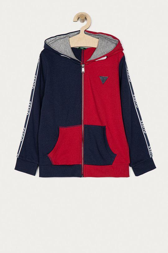 czerwony Guess - Bluza bawełniana dziecięca 116-176 cm Chłopięcy