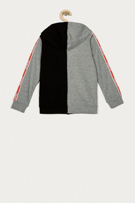 Guess - Bluza bawełniana dziecięca 116-176 cm czarny