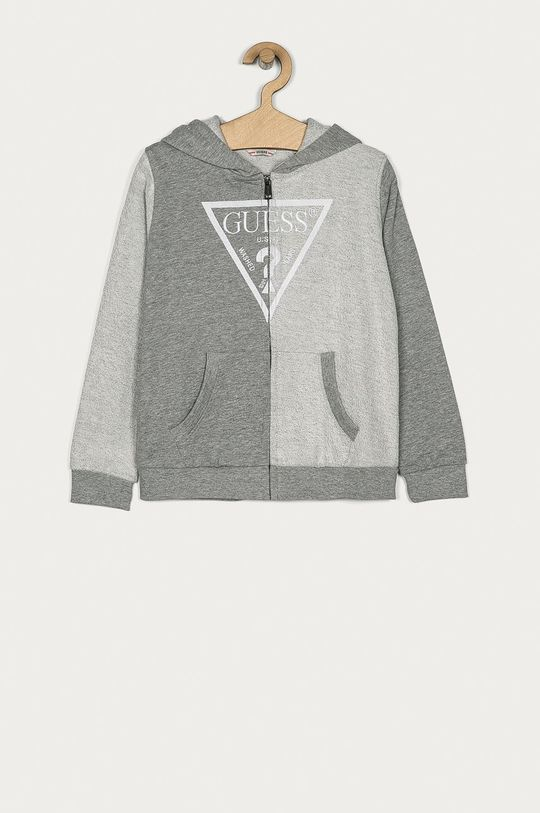 szary Guess - Bluza bawełniana dziecięca 128-176 cm Chłopięcy