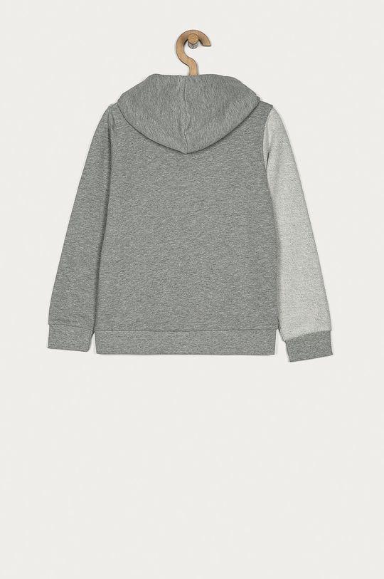 Guess - Bluza bawełniana dziecięca 128-176 cm szary