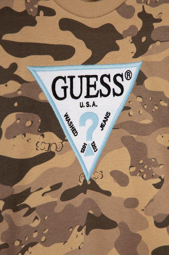 Guess - Bluza bawełniana dziecięca 116-176 cm 100 % Bawełna organiczna