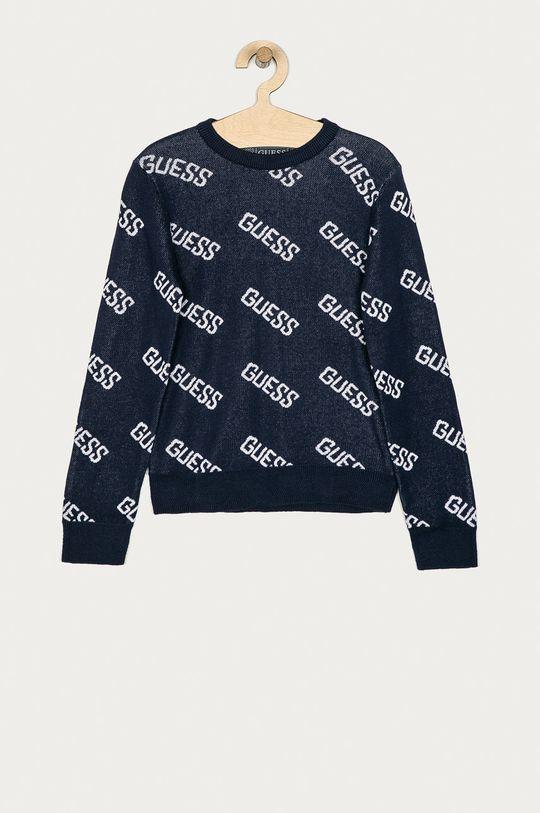 granatowy Guess - Sweter dziecięcy 116-175 cm Chłopięcy