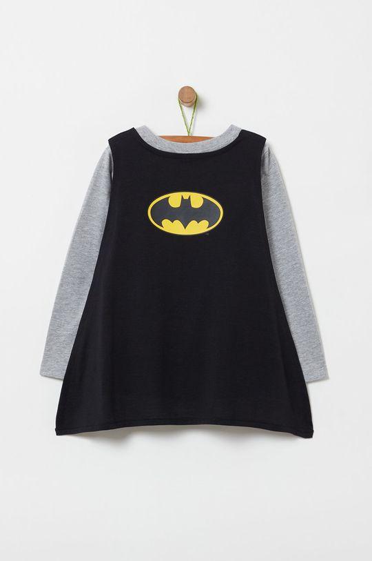 OVS - Detské tričko s dlhým rukávom 104-134 cm sivá