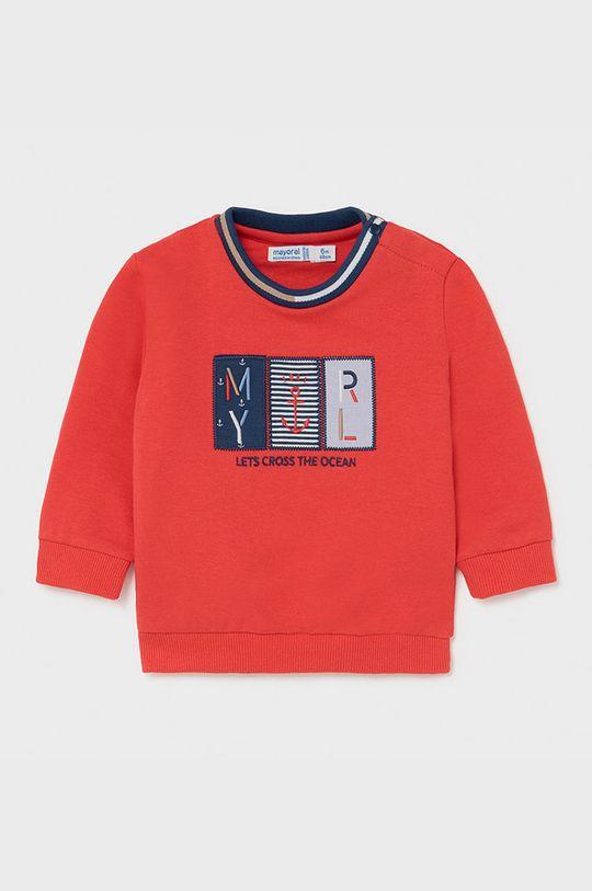 ostry czerwony Mayoral - Bluza dziecięca Chłopięcy