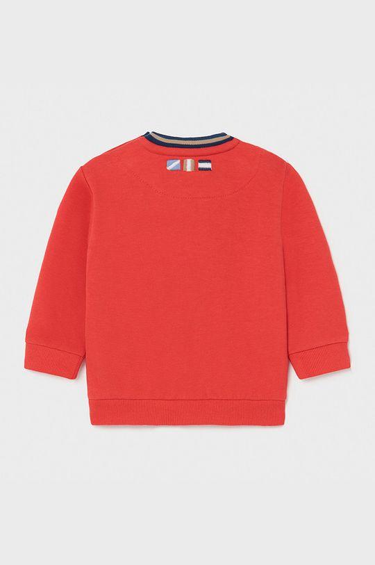 Mayoral - Bluza dziecięca ostry czerwony