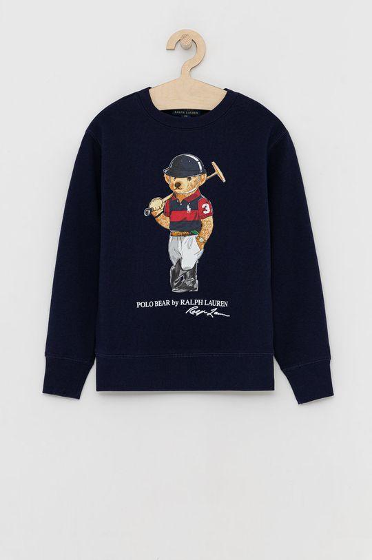 granatowy Polo Ralph Lauren - Bluza dziecięca Chłopięcy