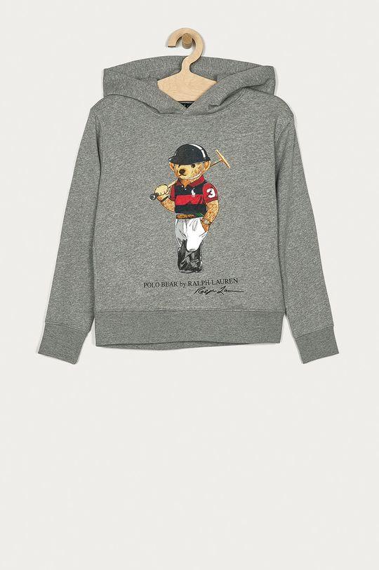 šedá Polo Ralph Lauren - Dětská mikina 134-176 cm Chlapecký
