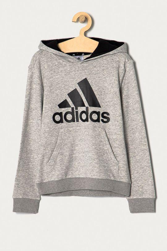 szary adidas - Bluza dziecięca 104-176 cm Chłopięcy