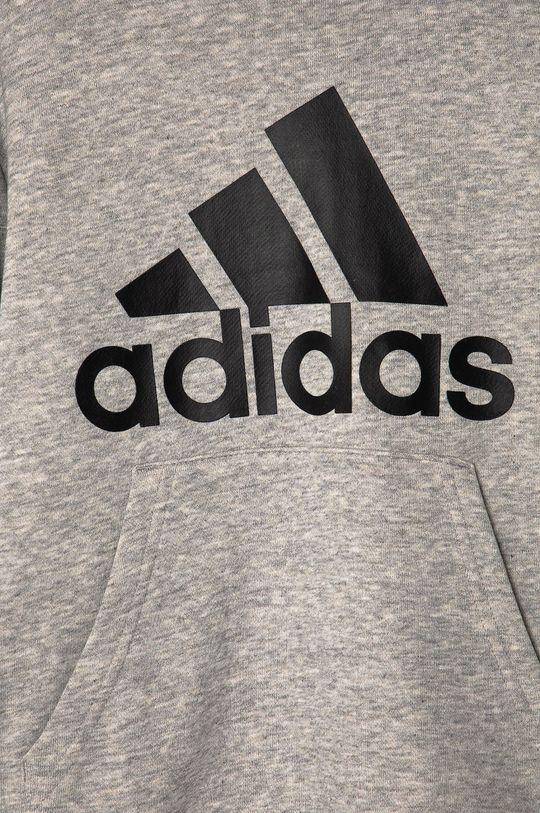 adidas - Bluza dziecięca 104-176 cm Materiał zasadniczy: 53 % Bawełna, 36 % Poliester, 11 % Wiskoza, Podszewka kaptura: 100 % Bawełna, Ściągacz: 95 % Bawełna, 5 % Elastan
