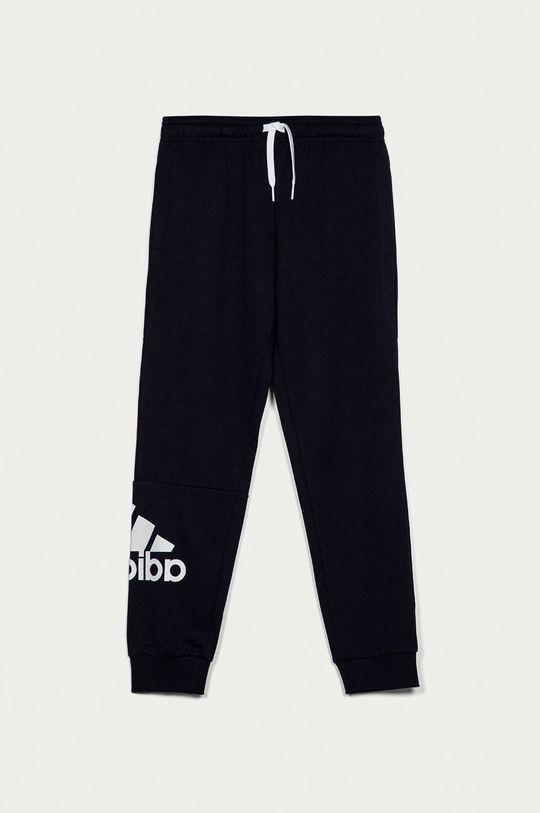 námořnická modř adidas - Dětské kalhoty 104-176 cm Chlapecký
