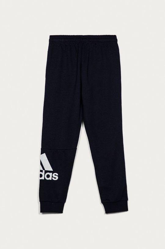adidas - Dětské kalhoty 104-176 cm námořnická modř
