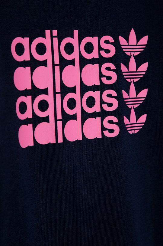granatowy adidas Originals - Bluza dziecięca 134-176 cm