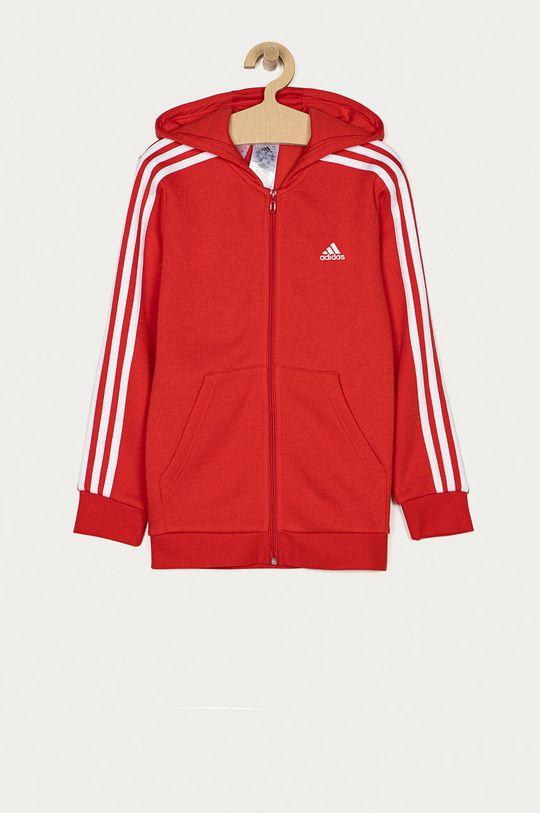 czerwony adidas - Bluza dziecięca 104-176 cm Chłopięcy