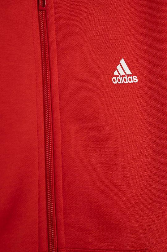 adidas - Bluza dziecięca 104-176 cm czerwony