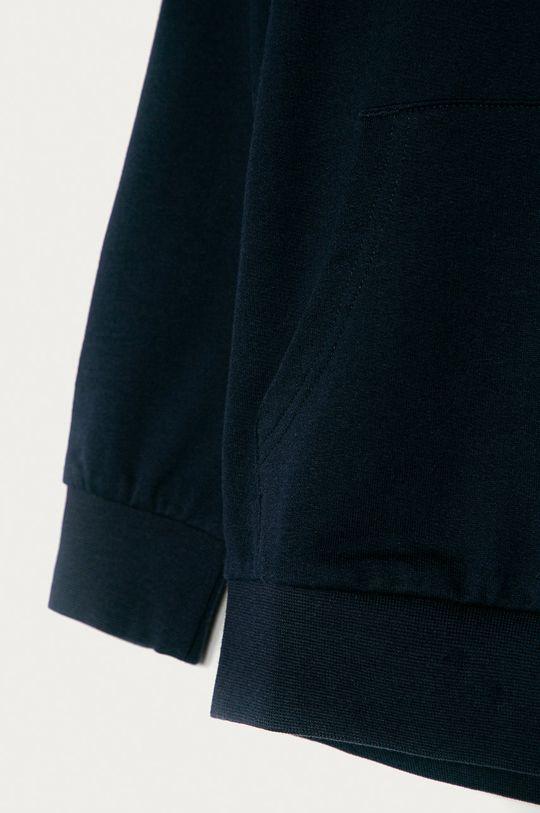 EA7 Emporio Armani - Bluza bawełniana dziecięca 104-164 cm granatowy