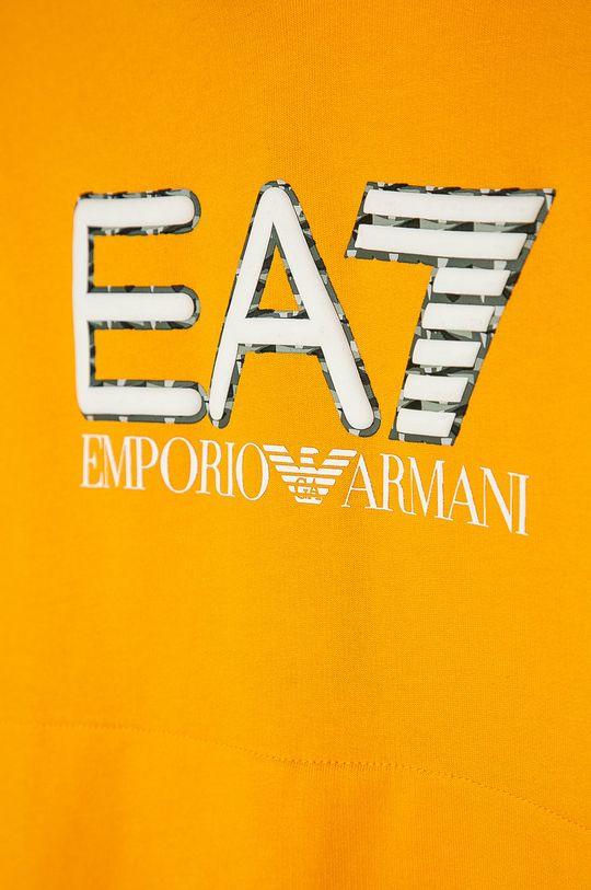 EA7 Emporio Armani - Dětská bavlněná mikina 104-164 cm  100% Bavlna