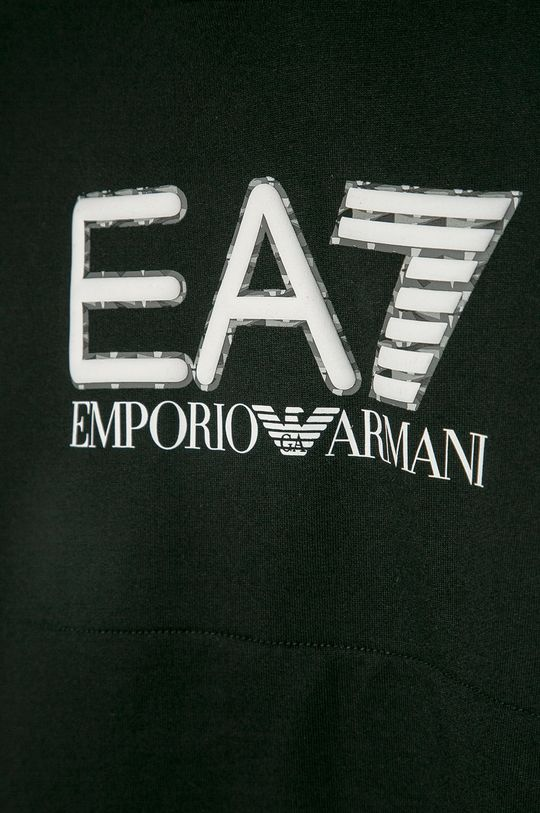 EA7 Emporio Armani - Bluza bawełniana dziecięca 104-164 cm 100 % Bawełna