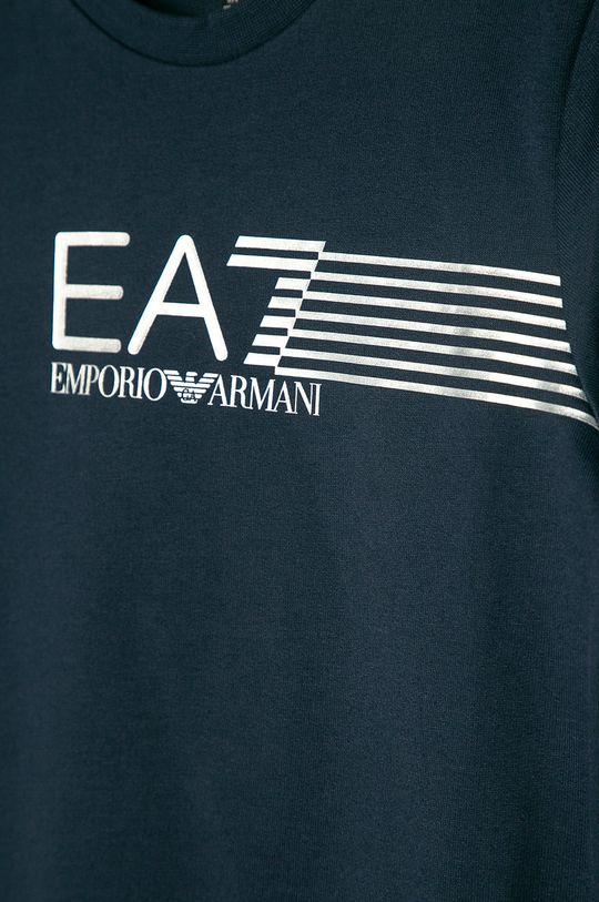 EA7 Emporio Armani - Detská bavlnená mikina 104-164 cm  100% Bavlna