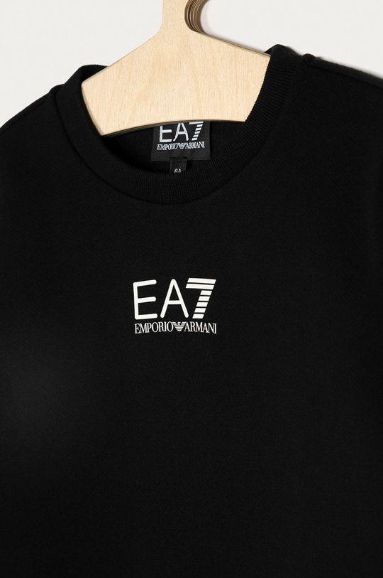 EA7 Emporio Armani - Detská mikina 104-134 cm čierna
