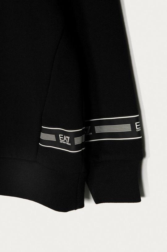 čierna EA7 Emporio Armani - Detská mikina 104-134 cm